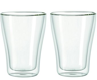 Vaso latte doble pared Leonardo Duo - juego de 2