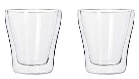 Leonardo Duo double-walled coffee glass - set of 2