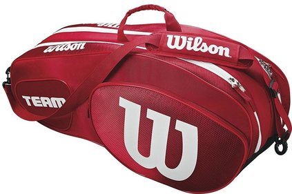 Wilson Team III 6 Pack rackettas