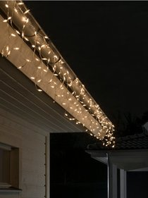 Konstsmide LED Light cord icicle uneven