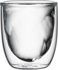 QDO Elements double walled glass Fire - set of 2