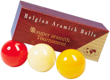 Super Aramith biljardbollar satt 61.5mm Turnering