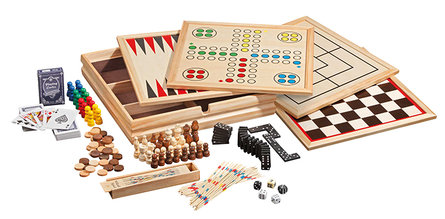 Philos wooden game set Compendium 10 - large