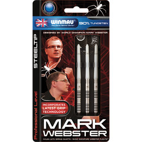 Winmau Mark Webster steeltip dartpijlen 21gr