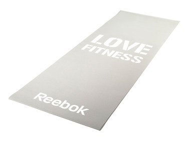 Fitness mat Grey Love Reebok Women's Training