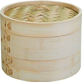 Ibili steam basket bamboo