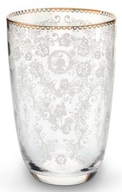 Pip Studio Floral long drink glass