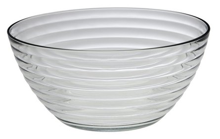 Rösle salad bowl with salad cutlery