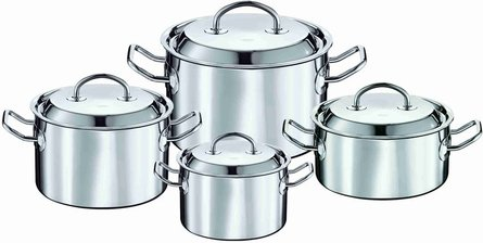 Rösle Multiply 4-piece cookware set