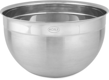 Rösle stainless steel deep bowl
