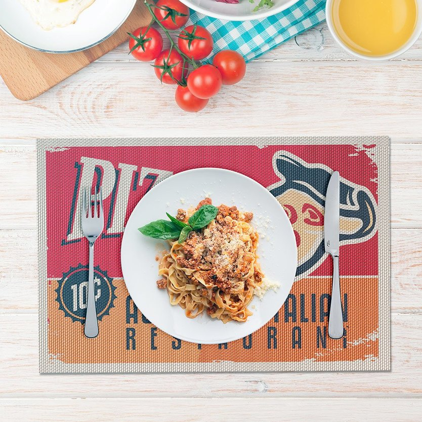 Balvi placemat pizza - set van 2