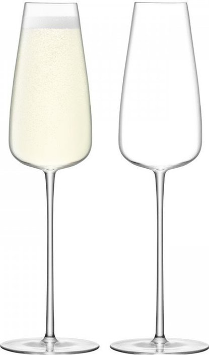 LSA Wine Culture champagne glass 330ml - juego de 2