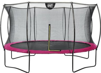 EXIT Silhouette trampoline with safety net