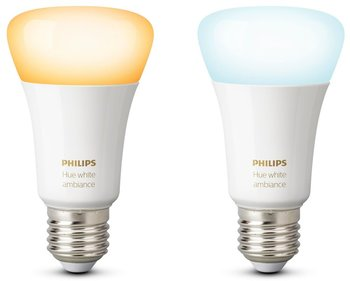Philips Hue White Ambiance 9W E27 2-pack