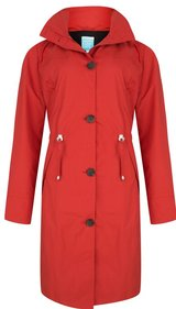 Happy Rainy Days Rosa Coat dames