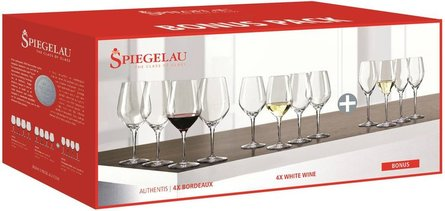 Spiegelau Authentis wine glass set - set of 12