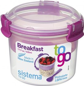 Sistema To Go tigela de café da manhã 530ml