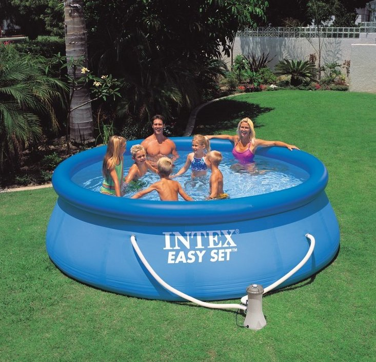 Intex Easy Set Pool 366x76 cm opblaaszwembad
