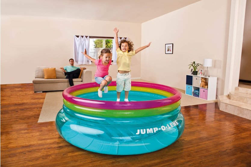 Intex Jump-O-Lene uppblåsbar bouncer