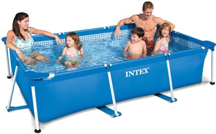 Intex Metal Framepool 300 × 200x75 cm above ground pool