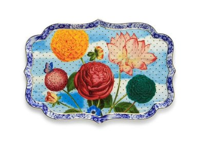 Pip Studio Royal Flowers 26 cm taartplateau