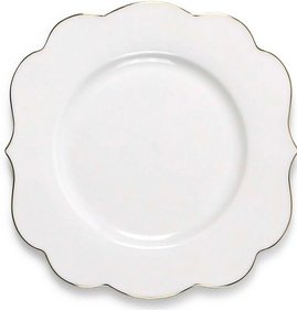 Pip Studio Royal White Cake plate
