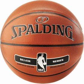 Spalding NBA Silver Series in/outdoor wedstrijdbal