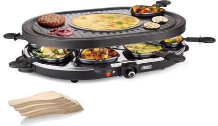 Princess Raclette Oval gourmet set