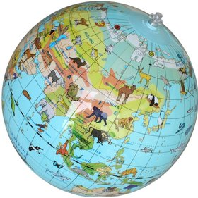 Caly-Toys Inflatable Animals Globe