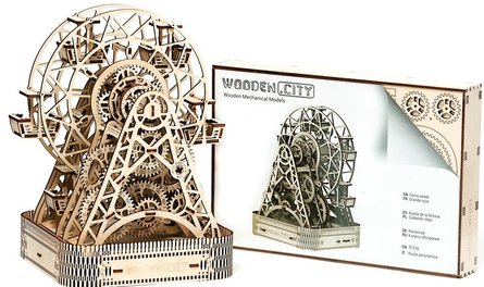 Wooden City Reuzenrad 3D Puzzel