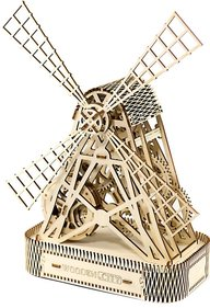 Wooden City 3D Molen puzzel