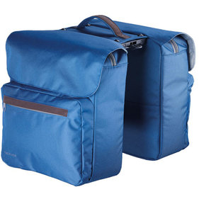 Racktime Ture double bicycle bag blue