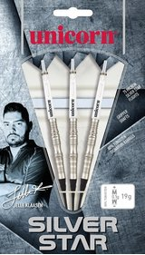 Unicorn Silver Star Jelle Klaasen set of darts