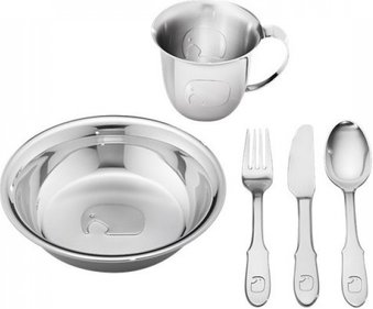 Georg Jensen Kids Elephant five-part breakfast set