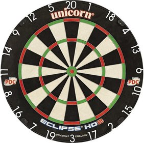 Unicorn Eclipse HD2 Pro - TV Edition Bristle Dart Board