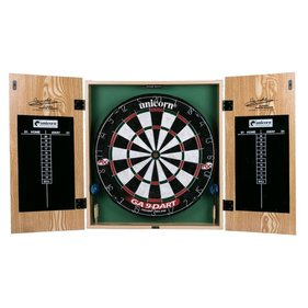 Unicorn Gary Anderson Home Dart Board Center cabinet
