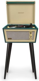 Crosley Sterling Green Plattenspieler
