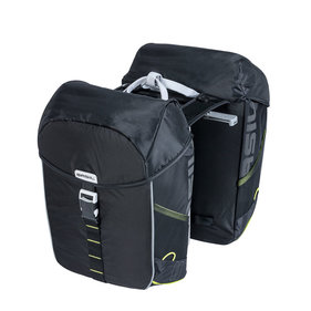 Basil Miles Mik double bicycle bag black