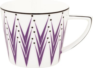 Designed for Living Lemon Grass cappuccino cup and saucer
