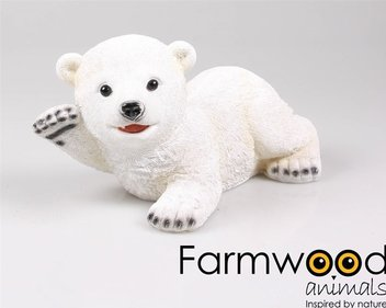 Farmwood Animals Waving Polar Bear garden image