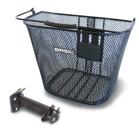 Basil Bremen Be bicycle basket black