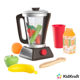 Kidkraft Wooden toy smoothie set espresso