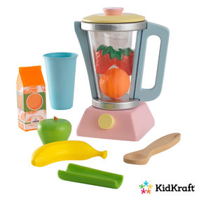 Kidkraft Wooden toy smoothie set pastel colored