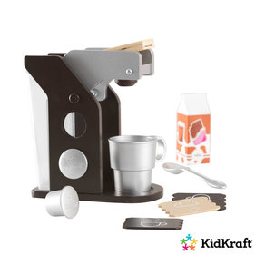 Kidkraft Wooden toy coffee maker Espresso colored