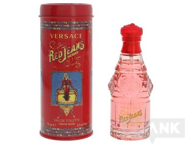 Versace Red Jeans Woman Edt Spray