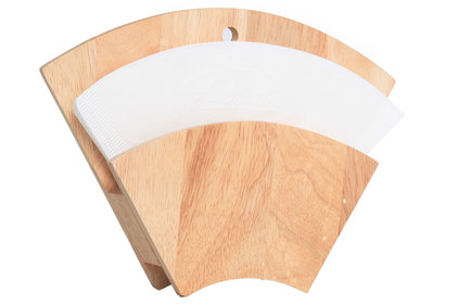 COFFEE FILTER HOLDER 16X4.2X21.8CM WOOD
