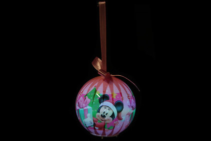 Disney Minnie Mouse LED Christmas baubles