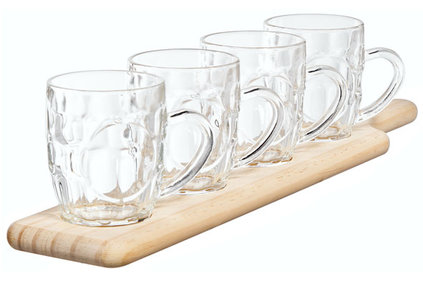 DEGUSTATION SET SHELF - 4 PINT 285ML48X10XH1.8CM