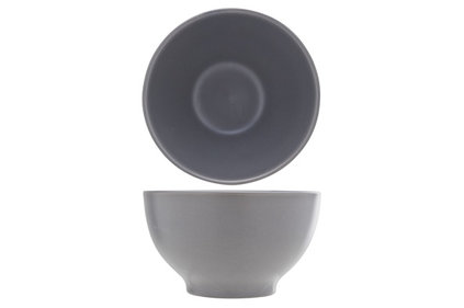 SERENA DARK GREY BOWL D14CM 65CL