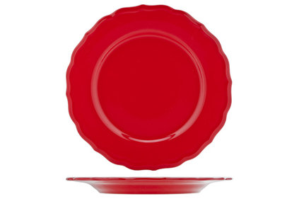 JULIET RED PLAT BORD BLINKEND D28CM